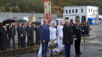 В Морском торговом порту прошла церемония торжественной встречи парусника «Паллада»