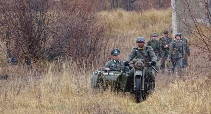 Советские войска сошлись в битве с фашистами на Колыме (фото)