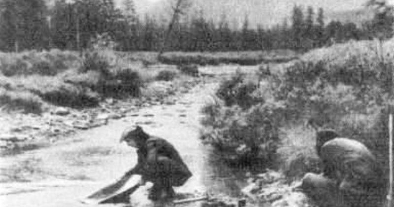 88 лет назад произошла первая документально зафиксированная сдача золота старательскими артелями реки Среднекан