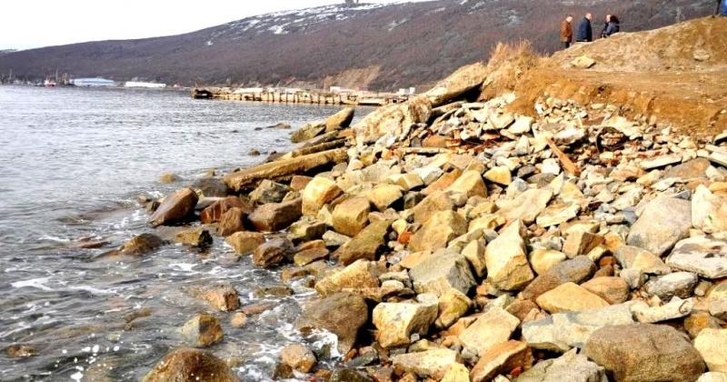 Проект берегоукрепления с устройством набережной в бухте Нагаева реализован не будет