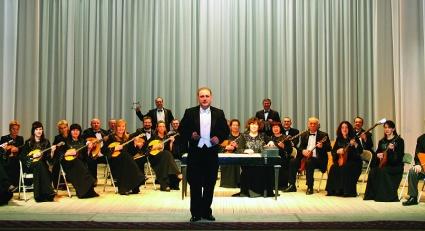 Юбилейный концерт Магаданского губернаторского русского оркестра