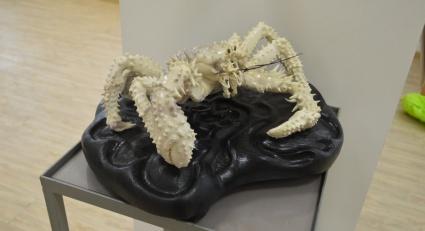 Жители Магадана имеют уникальную возможность увидеть больше сотни работ мастеров художественной резьбы по кости