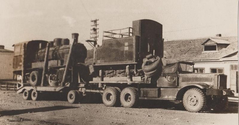 72 года назад автотранспортники Дальстроя получили 52 двенадцатитонных американских автомобиля-тягача «Даймонд»