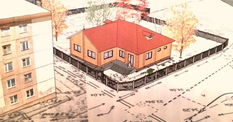 Новый проект Охотско-Колымского краеведческого музея предполагает скопировать здание из деревянных бревенчатых конструкций, которое внешне  будет напоминать первое строение