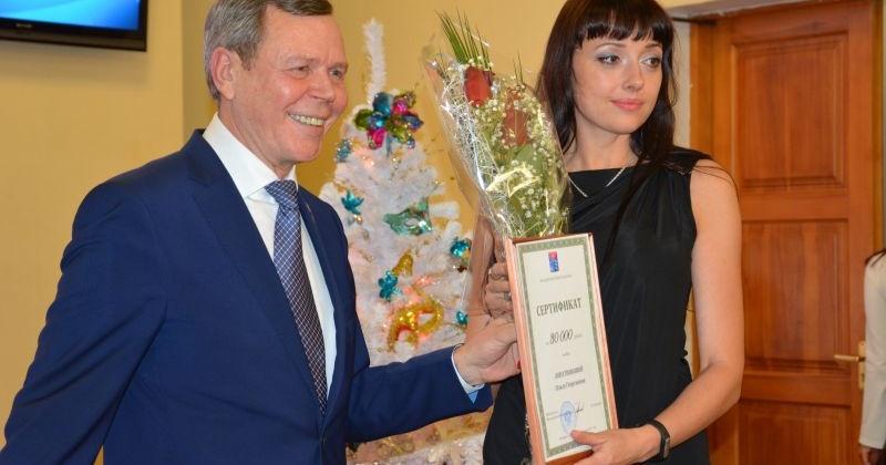 Сергей Абрамов вручил премии лауреатам конкурса «Парламентская журналистика»
