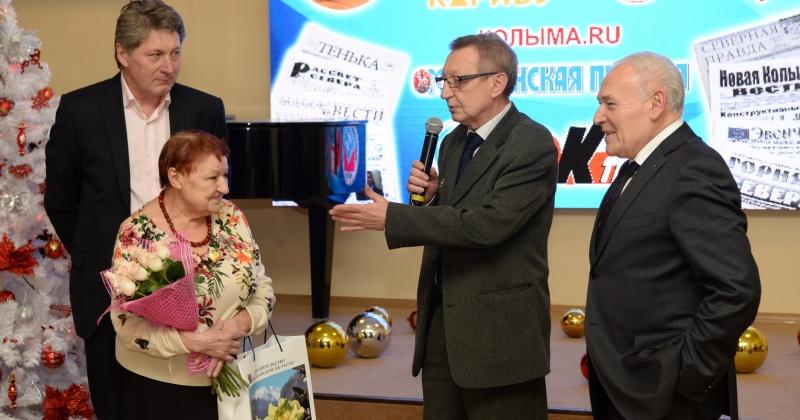Магаданский журналист Жанна Еременко получила первый знак «Заслуженный работник СМИ Магаданской области»