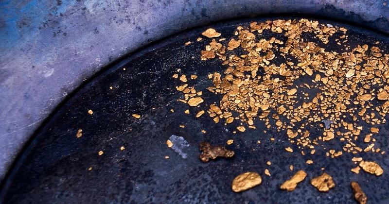 Около 11 кг золота намыло в Магаданской области предприятие без лицензии