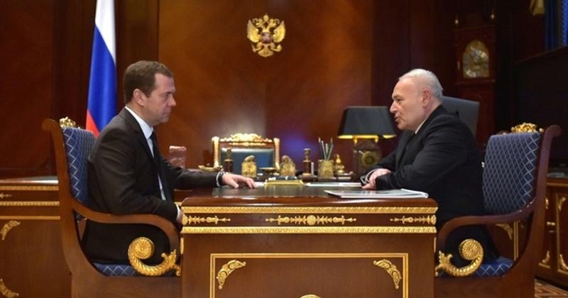 Дмитрий Медведев встретился с губернатором Владимиром Печеным