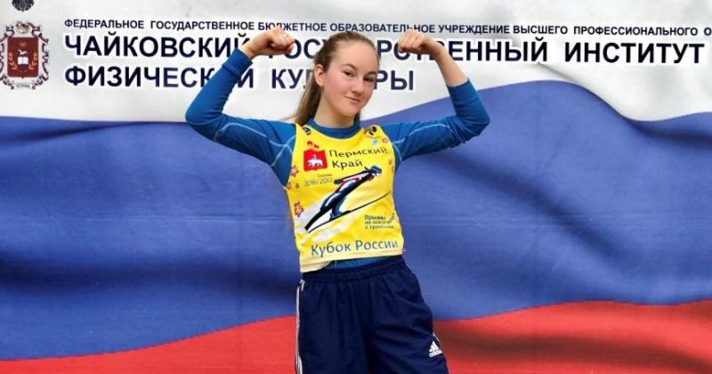 Магаданская летающая лыжница Анна Жукова – обладательница Кубка России по прыжкам на лыжах с трамплина