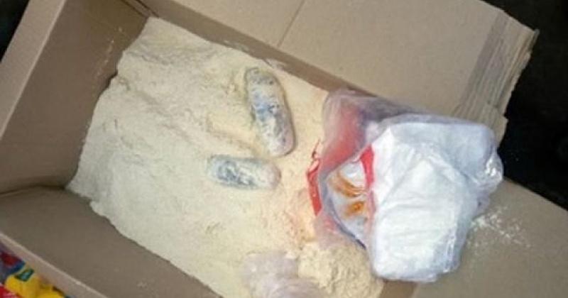 Полученный на почте аналог наркотического средства магаданец пытался спрятать в лесу