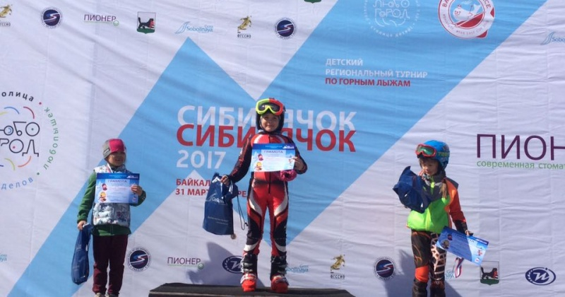 Магаданская спортсменка Жукова Олеся выиграла Первенство Сибири и Дальнего Востока в дисциплине слалом-гигант
