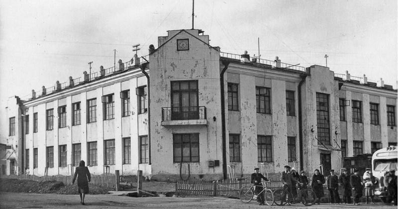 77 лет назад Магаданская почтовая контора переименована в почтамт