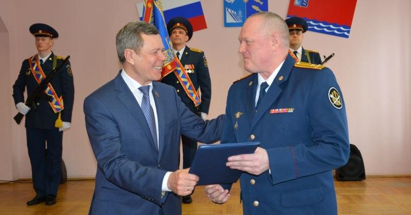 Сергей Абрамов поздравил сотрудников и ветеранов УФСИН с юбилеем уголовно-исполнительной системы