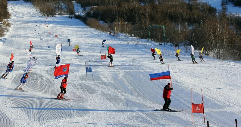 В предстоящие выходные юные магаданские горнолыжники  закроют сезон
