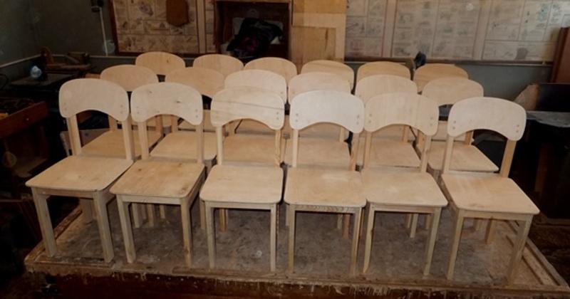 Деревянные стульчики для воспитанников детского сада изготовили магаданские сидельцы