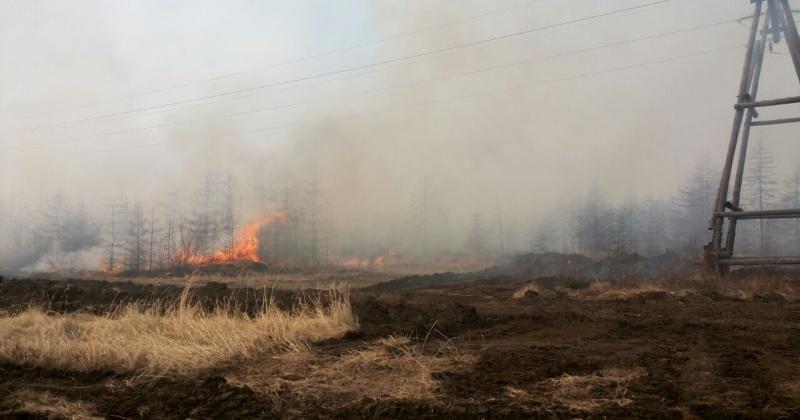 В Магаданэнерго идет масштабная подготовка к пожароопасному сезону