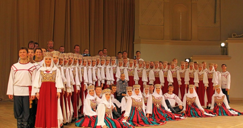 Легендарный хор имени Пятницкого выступит в Магадане