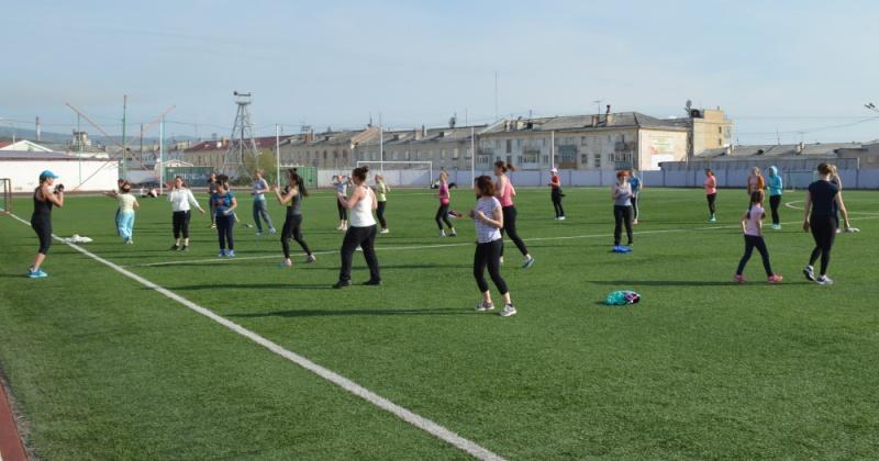 С 6 июня на магаданском Городском стадионе стартует проект «Фитнес для всех»