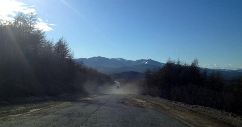 На участке км 1497+871 автомобильной дороги «Колыма» Якутск – Магадан открыто движение для всех видов транспортных средств