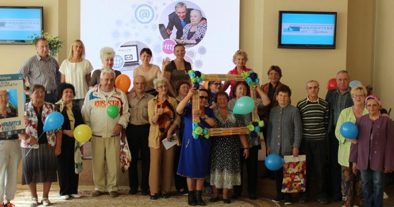 Почти 200 колымских пенсионеров за 2 года прошли компьютерные курсы «Азбуки интернета»
