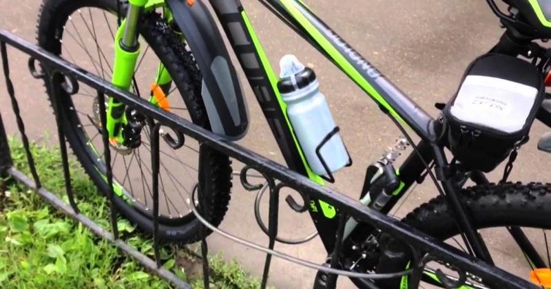 Домофон на подъездной двери и даже тросовый замок не являются гарантом сохранности вашего велосипеда