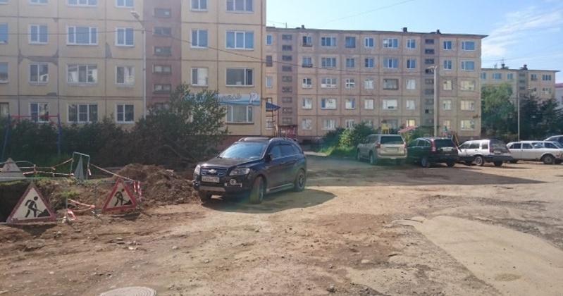 Разработан дизайн-проект благоустройства дворовой территории домов по улице Пролетарской и  по улице Парковой