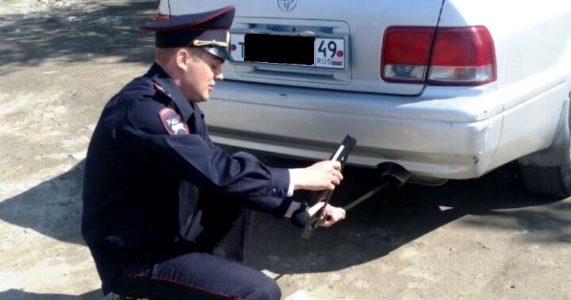 Автомобили с превышением уровня шума выявляли магаданские госинспектора