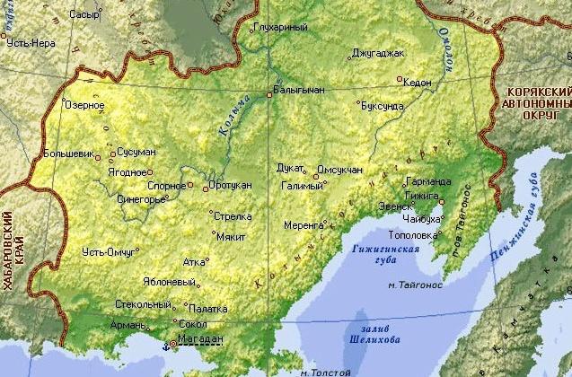 65 лет назад на заседании бюро Хабаровского крайкома КПСС впервые обсудили вопрос об образовании Магаданской области