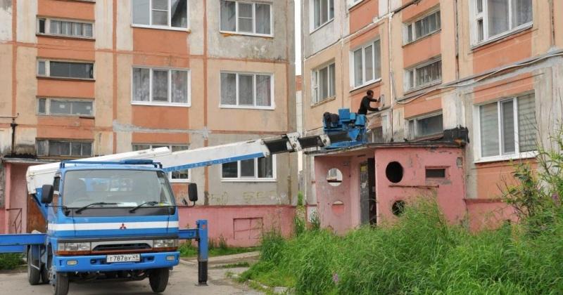 Жилищный фонд Магадана готов к предстоящей зиме на 94 процента