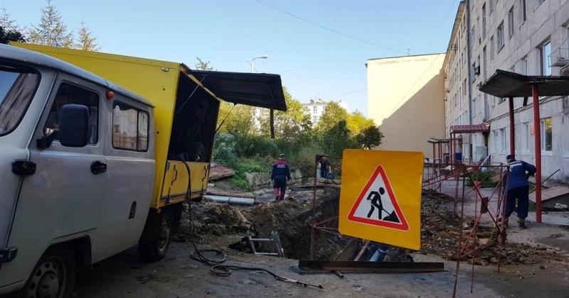 На контроле у инспекторов АТИ Магадана – восстановление благоустройства после проведения разрытий