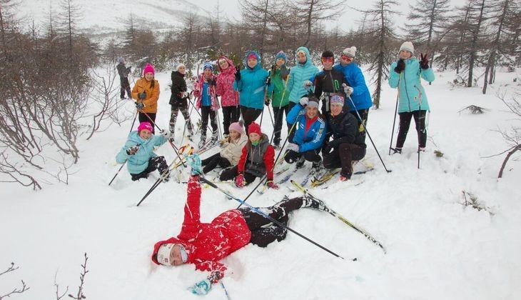 В СОК «Снежный» завершаются учебно-тренировочные сборы команды ДЮСШ по лыжным гонкам им.Елены Вяльбе.
