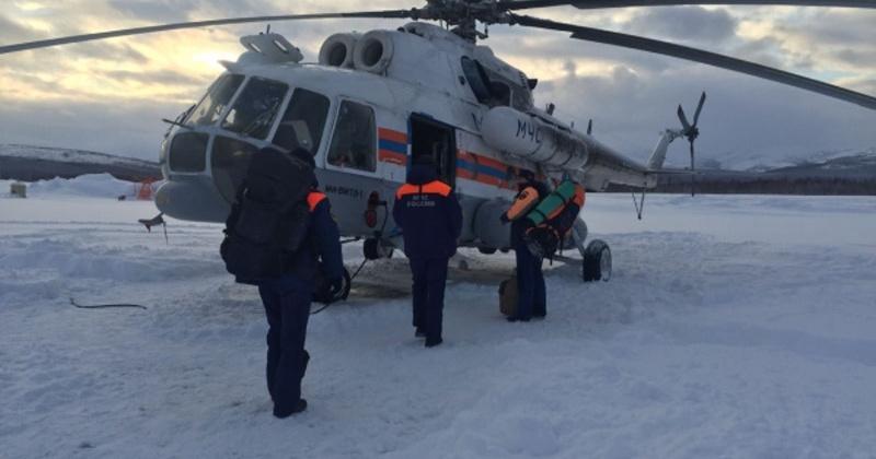 Магаданские спасатели вылетели на оказание помощи охотнику