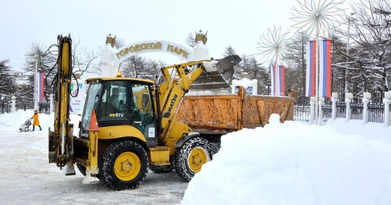 Сегодня в Магадане в связи с расчисткой улиц и снеговывозом будут перекрыты улицы Горького и Билибина