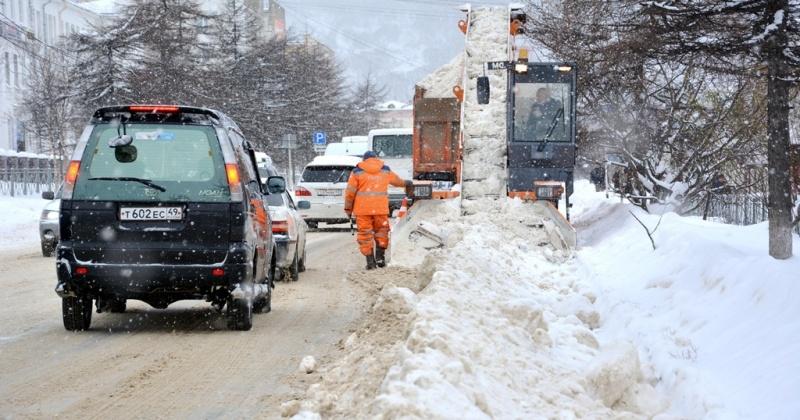Перекрытие Болдырева, очистка частного сектора, снеговывоз с Театральной площади