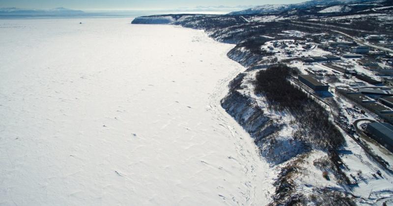 Выход граждан и выезд транспортных средств на ледовое покрытие бухт Гертнера и Нагаева запрещен