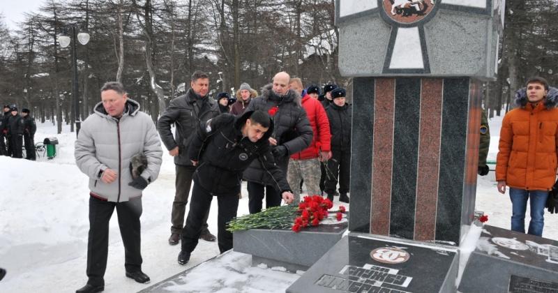 В Магадане почтили память погибших земляков