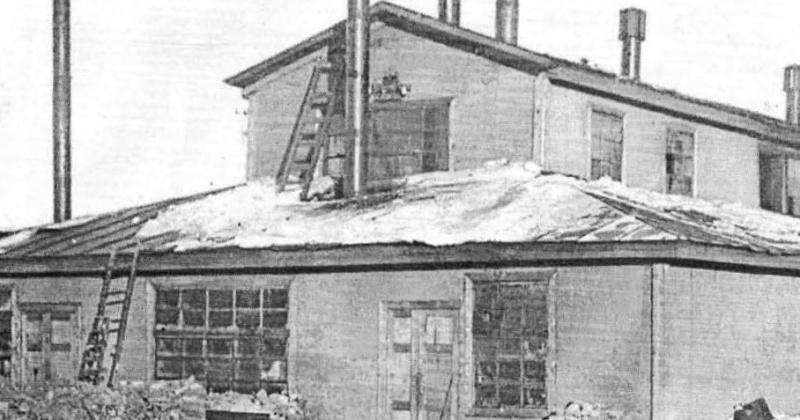 76 лет назад состоялась первая плавка стекла на Магаданском стекольном заводе (1941).