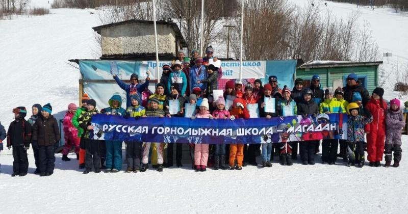 На 107 человек увеличилось число разрядников в Русской горнолыжной школе-Магадан в сезоне 2017 года