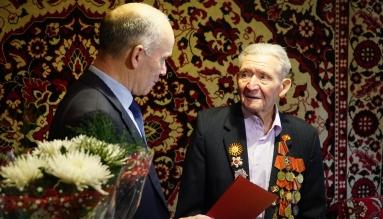 Колымчанин Григорий Макеев получил поздравление от президента РФ с 90-летием