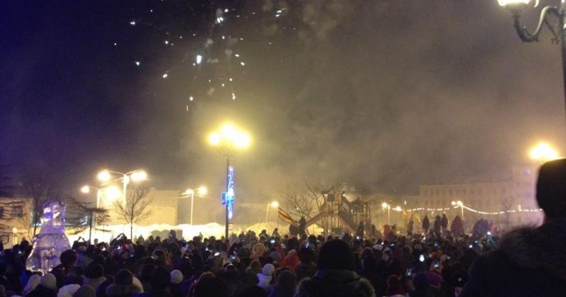 Магаданская область одной из первых в стране встретила Новый год