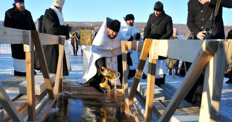 Крещение в Магадане может быть перенесено из-за тонкого льда