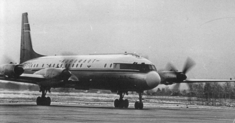 57 лет назад стали выполняться регулярные полеты рейсы по маршруту Москва – Магадан – Москва на самолете Ил-18