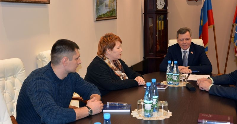 Сергей Абрамов и Андрей Зыков встретились с членами Общественной палаты региона от Магаданской областной Думы