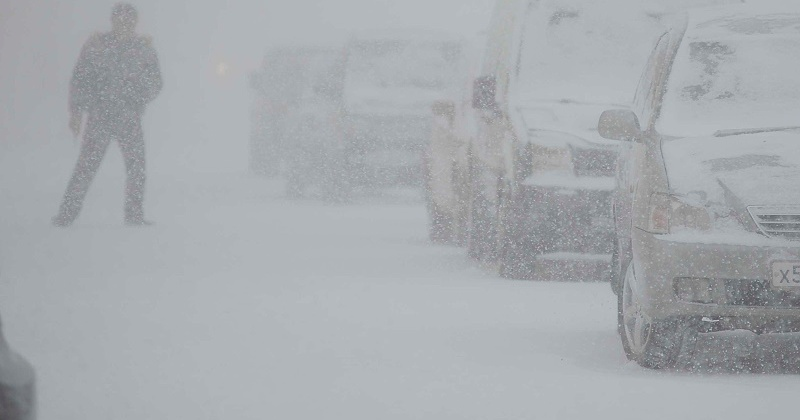 Ветер, метель и сильный снег ожидается в Магаданской области