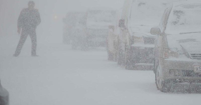 Сильный снег, ветер и метель ожидается на территории Магаданской области
