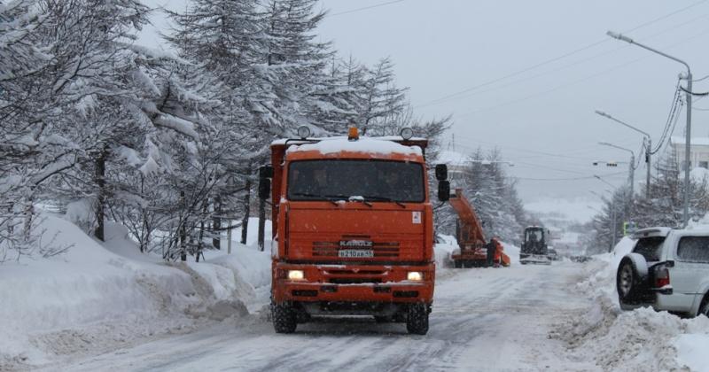 Согласно плану  снеговывоза в Магадане будут перекрываться для автодвижения ряд городских улиц в течение ближайших пяти суток, до 5 февраля.