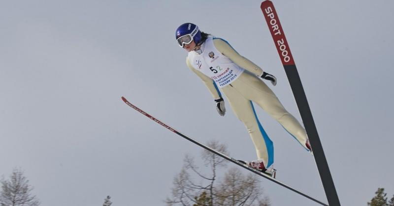 На Чемпионате мира среди юниоров в Швейцарии российская команда летающих лыжниц  взяла серебро