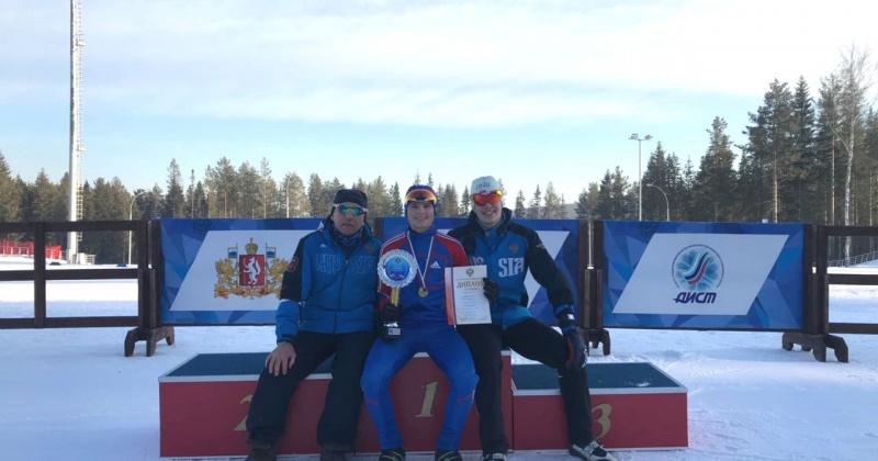 Магаданец Александр Миланин стал победителем на Первенстве России по лыжному двоеборью среди юношей