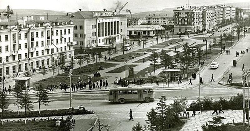 58 лет назад главный архитектор города Н. Швейде рассказал как будет застраиваться Магадана дальше