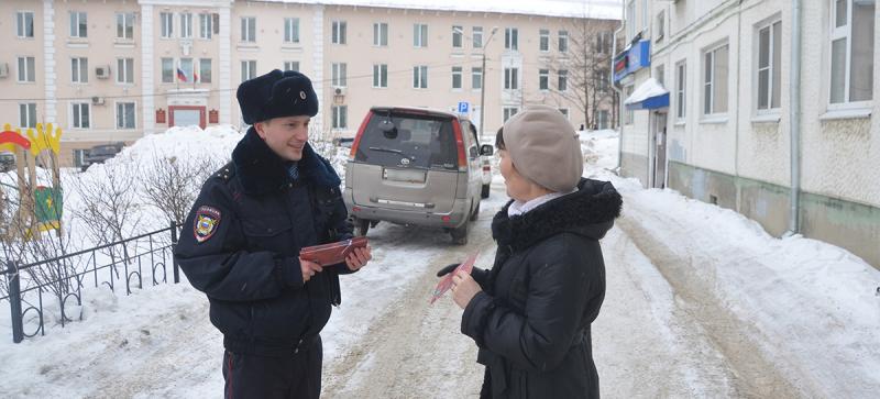 В преддверии Международного женского дня, участковые уполномоченные полиции поздравляют колымчанок